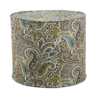 Brite Ideas Living Paisley High Corded Foam Ottoman