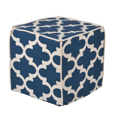 Brite Ideas Living Fynn Cadet Macon Corded Foam Ottoman