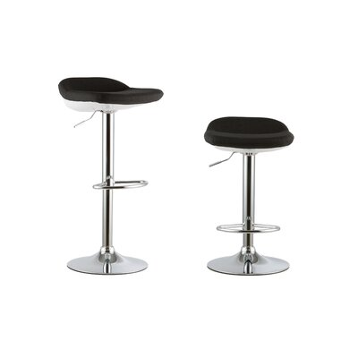 Attraction Design Home 2 Piece Adjustable Height Swivel Bar Stool Set