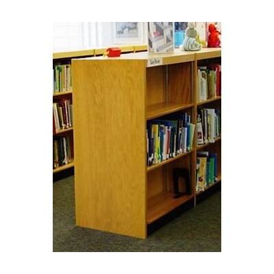 W.C. Heller Double Face Shelf Standard Bookcase