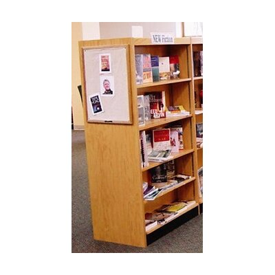 W.C. Heller Open Back Single Face Shelf 72