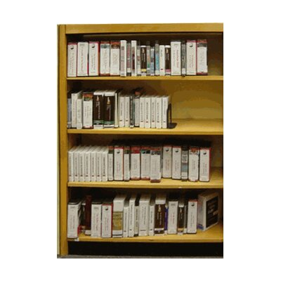 W.C. Heller Open Back Single Face Shelf 6..
