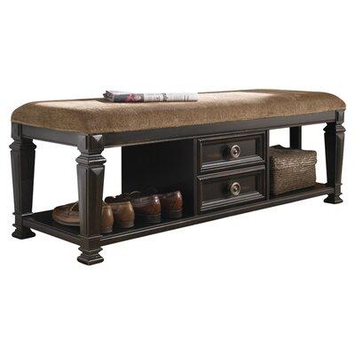 Rosalind Wheeler Nimmons Wood Storage Bedroom Bench