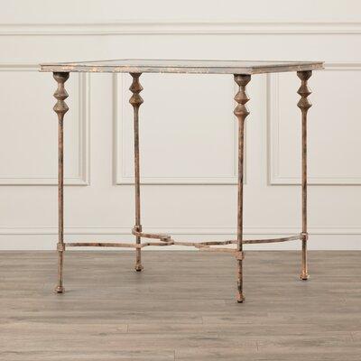 Rosalind Wheeler Feehogue Glass End Table