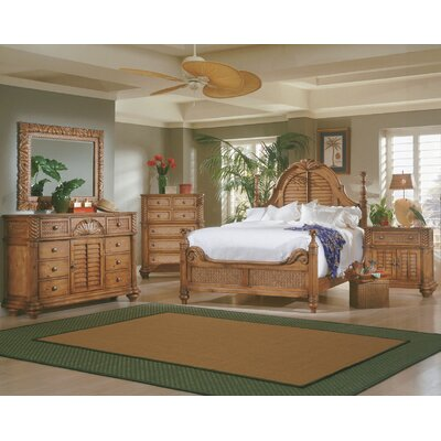 Bay Isle Home Paradiso Panel Customizable Bedroom Set