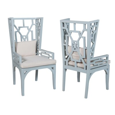 Bay Isle Home Ibis Wing Arm Chair (Set of 2) Image