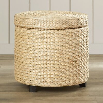 Bay Isle Home Horsetail Storage Ottoman