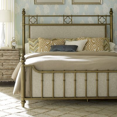 Bay Isle Home Akrotiri Upholstered Panel Bed