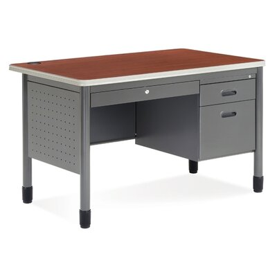 Symple Stuff Computer Desk with Center Drawer