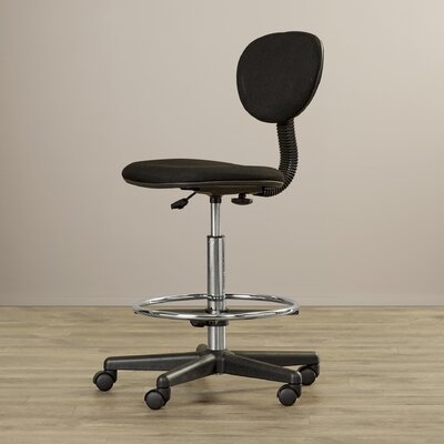 Symple Stuff Mid-Back Drafting Chair with Foot Ring