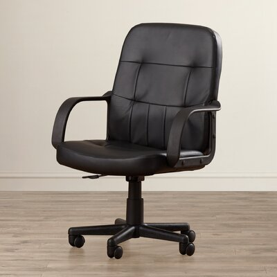 Symple Stuff Mid-Back Conference Chair with Arms