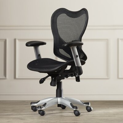 Symple Stuff Mid-Back Mesh Office Chair with Triple Paddle Control II