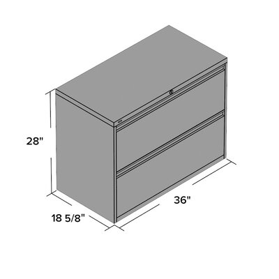 symple stuff 2drawer files lateral filing cabinet