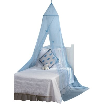 Zoomie Kids Aliza Canopy Bed with Mountin..