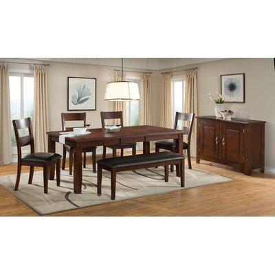 Vilo Home Inc. Viola Heights 6 Piece Dining Set