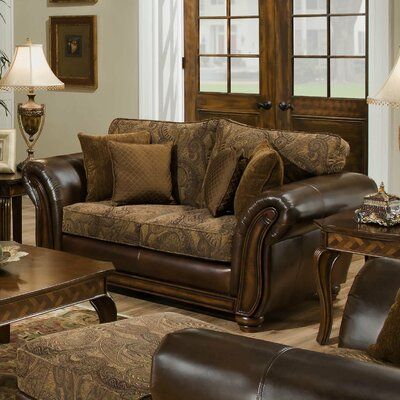 Astoria Grand Simmons Upholstery Aske Loveseat