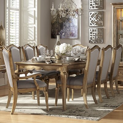 Astoria grand bainbridge 9 piece dining set reviews for Dining room furniture 9 piece