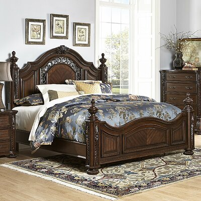 Astoria Grand Clarens Panel Bed