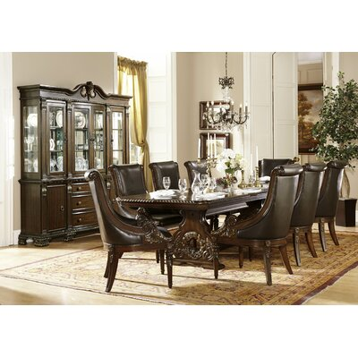 Astoria Grand Chirk Trestle Extendable Dining Table