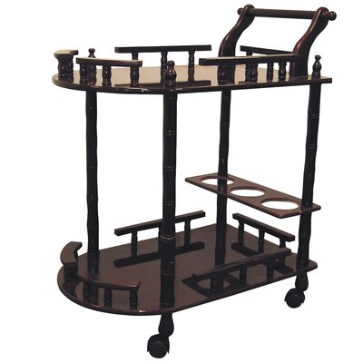 World Menagerie Zabala 2 Tier Wine Table