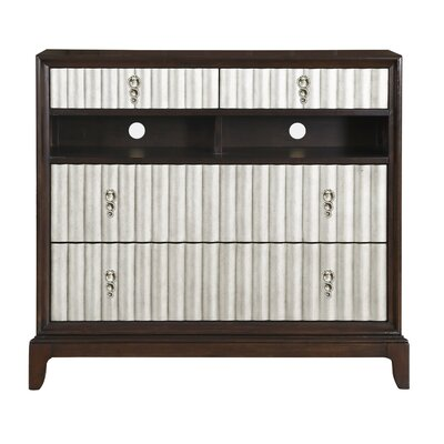 Mercer41 Mirren 4 Drawer Media Chest