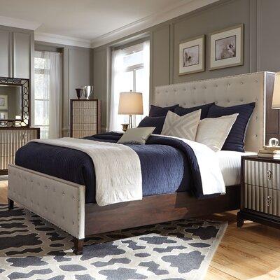 Mercer41 Mirren Upholstered Panel Bed