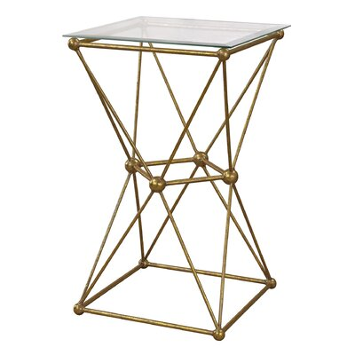 Mercer41 Ardenne Geometry Molecular End Table