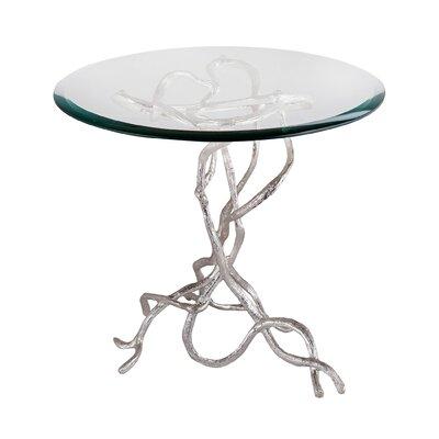 Mercer41 Magdalena Woven Vines End Table