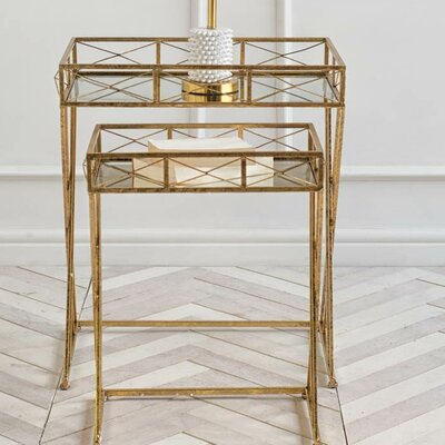 Mercer41 Sarde 2 Piece Nesting Tables