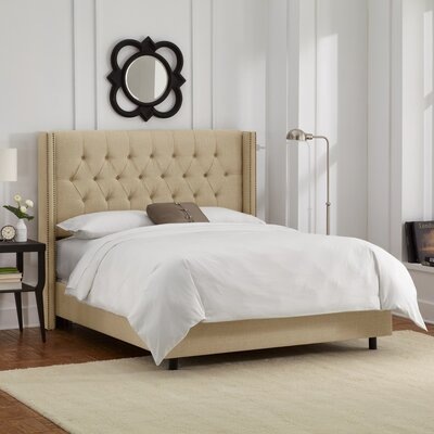 Mercer41 Maher Upholstered Panel Bed