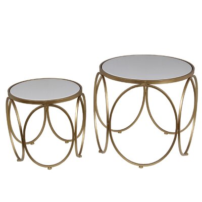 Mercer41 Cambridgeshire 2 Piece Nesting Tables