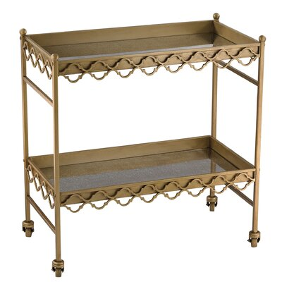 Mercer41 Ambrosia Bar Serving Cart