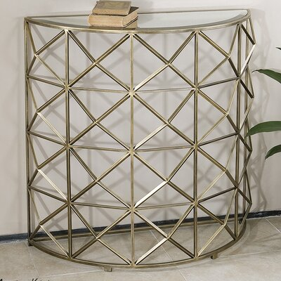 Mercer41 DiCaprio Console Table
