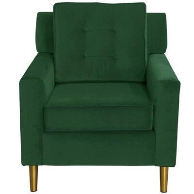 Mercer41 Mablethorpe Velvet Arm Chair