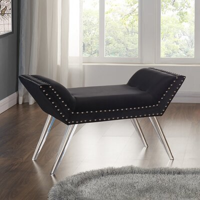Mercer41 Hanks Upholstered Bench