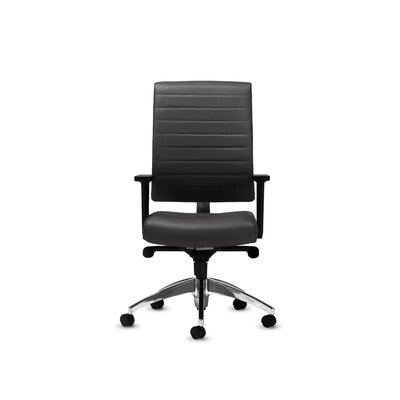Rouillard Enzo Fx Channel Mid-Back Conference Chair with Arms (Set of 4)