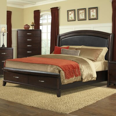 Picket House Furnishings Dalia Upholstered Storage Platform Bed