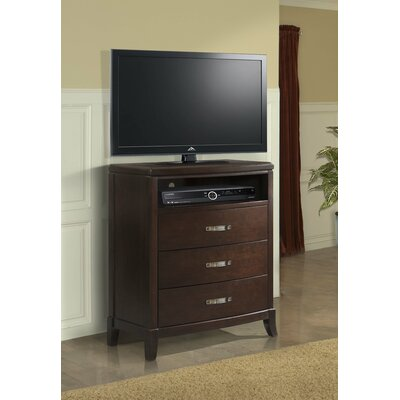 Darby Home Co Mcduffie 3 Drawer Media Chest