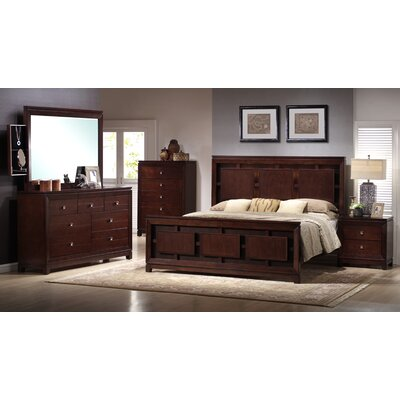 Latitude Run Lona Panel Customizable Bedroom Set