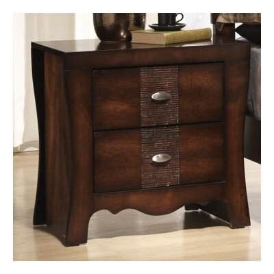 Picket House Furnishings Jenny 2 Drawer Nightstand