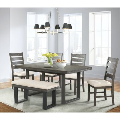 Latitude Run Donna 6 Piece Dining Set