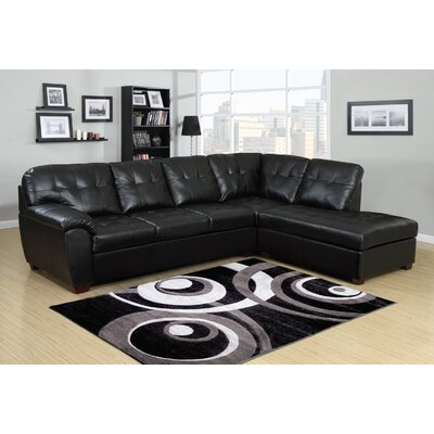 Picket House Furnishings Calvin Padded Sectional