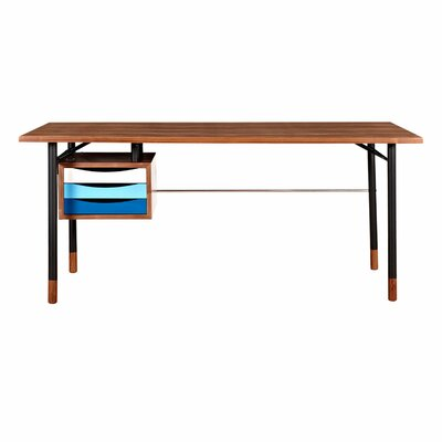 NyeKoncept Soren 3 Drawer Writing Desk