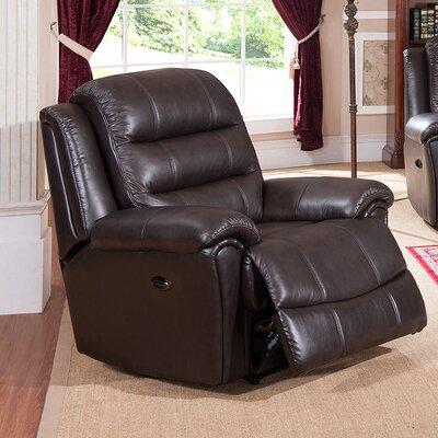 Amax Astoria Leather Recliner