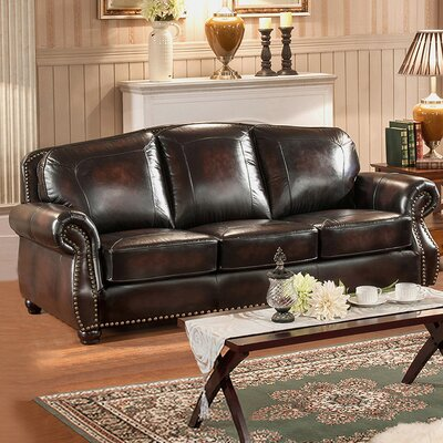 Amax Vail Leather Sofa