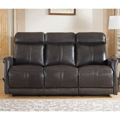 Amax Mosby Leather Reclining Sofa