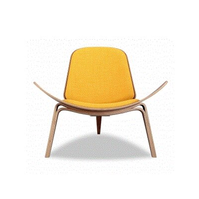 Kardiel Tripod Plywood Modern Lounge Chair