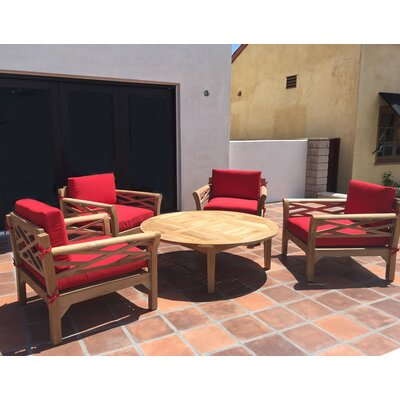 Willow creek designs monterey 5 piece deep seating group for Willow creek designs