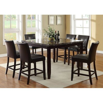 Living In Style Harvard Counter Height Dining Ta..