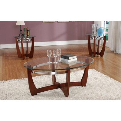 Living In Style Cheryl 3 Piece Coffee Table Set